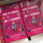 Autoren-Exemplare von How to survive mit Teenager im Karton