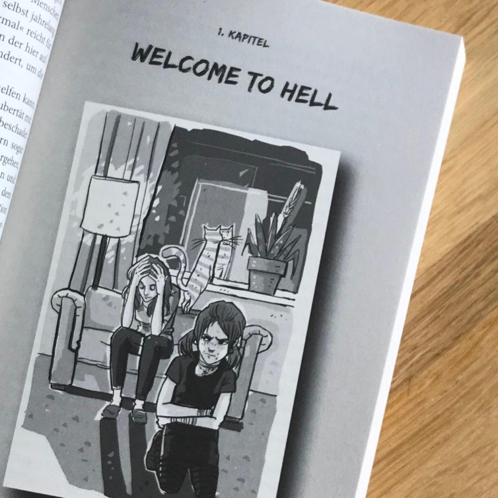 Zeichnung zu Kapitel 1, von Jana Moskito