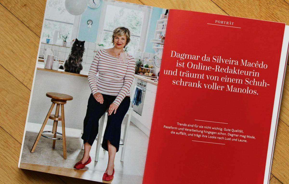 Kalle und Dagmar posieren für den Styleguide von Susi Ackstaller